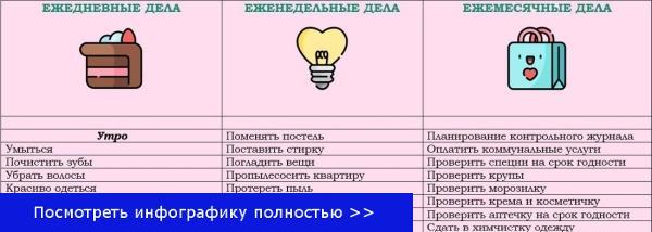 Контрольный журнал Флай Леди