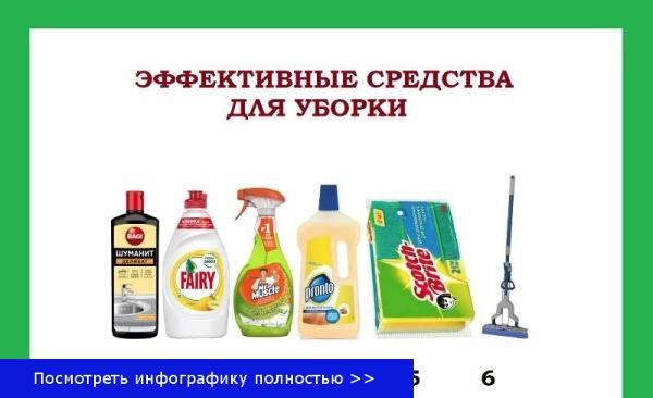 Уборка дома как делать
