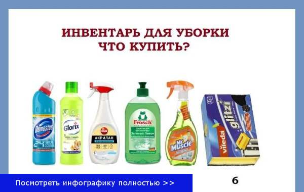 Что приобрести для чистки