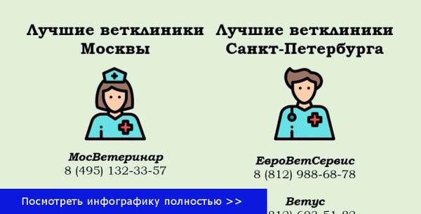 Ветеринарные больницы
