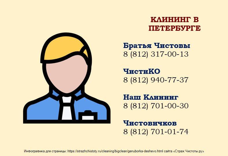 Генеральная уборка СПб