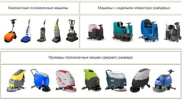 поломоечные машины для производственных помещений