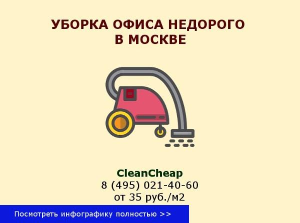 уборка офиса в москве